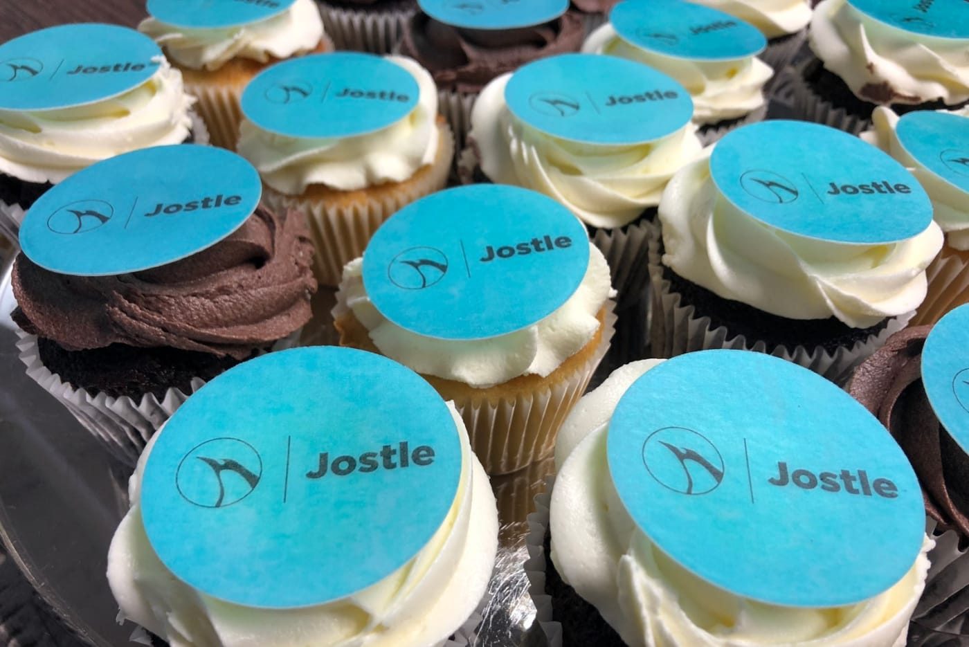 Launch day cupcakes