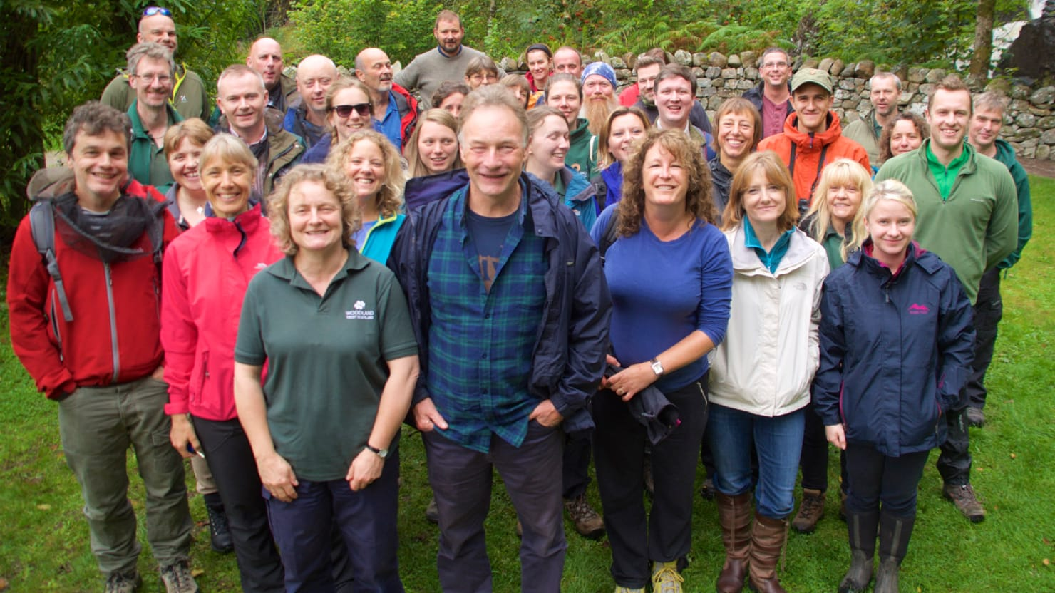 Woodland Trust's team from Scotland